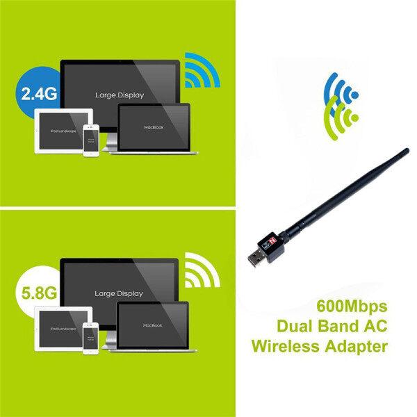 Bảng giá Ăng Ten Bộ Chuyển Đổi Mạng Lan Wifi Không Dây Băng Tần Kép 2.4Ghz 600Mbps Phong Vũ