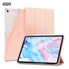 ESR Ốp Cho iPad Air 4 iPad Pro 12.9 (2020) iPad Pro 11 2020, Ốp Lưng Thông Minh Mỏng Bật Lại Với Chế Độ Ngủ/Thức Tự Động [Chế Độ Xem/Gõ Đứng] [Mặt Sau Bằng TPU Dẻo Có Vỏ Bọc Cao Su] Cho iPad Air 4 iPad Pro 2020