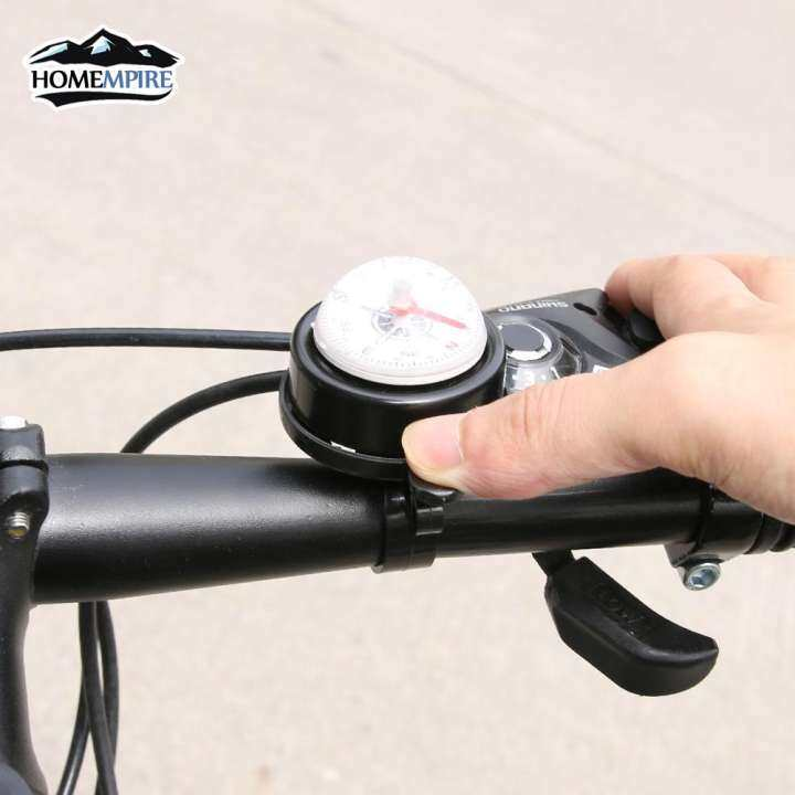 New Bike Road Bicycle Cycling Handlebar Bell Ring Horn With The Compass Kl