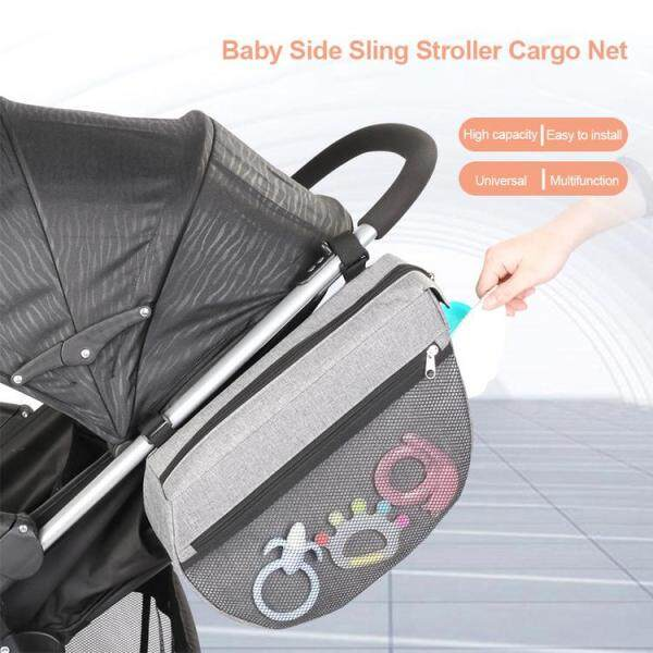 Baby Stroller Side Hanging Bag Waterproof Multifunctional Stroller Storage Bag Organizer Singapore