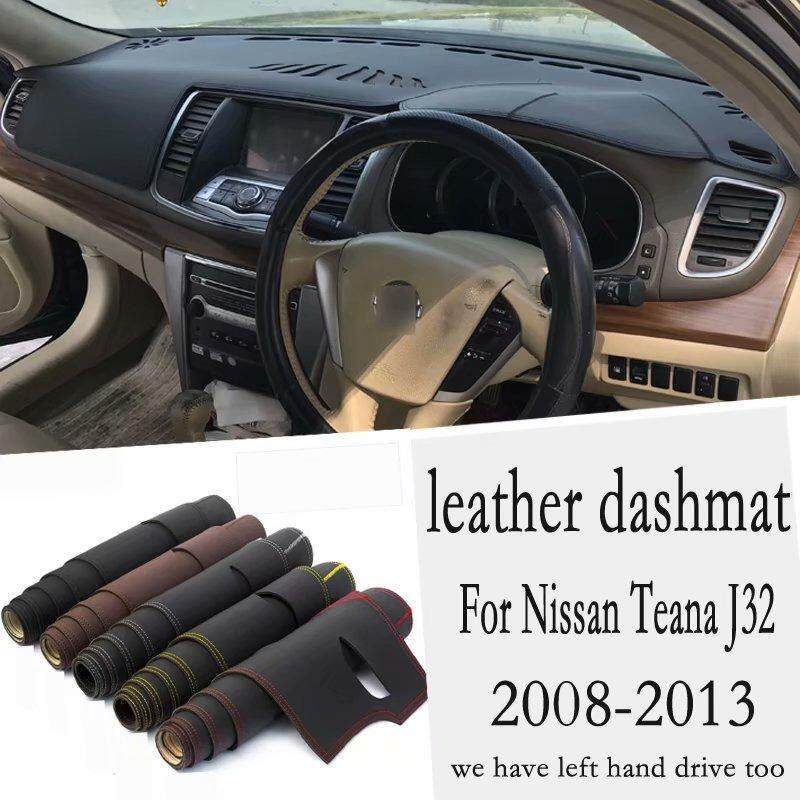 For Nissan Teana J32 2008 2009 2010 2011 2012 Leather Dashmat Dashboard Cover Car Pad Dash Mat Sunshade Carpet Custom Rhd By Car Club.