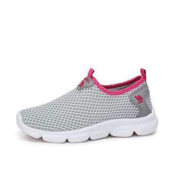 CAMEL รองเท้าผู้หญิง 2018 ฤดูใบไม้ผลิและฤดูร้อนใหม่ Breathable ตาข่ายรองเท้าเกาหลีกีฬารองเท้าตาข่าย Casual รองเท้าส้นเตี้ยสำหรับนักเรียนผู้หญิง-