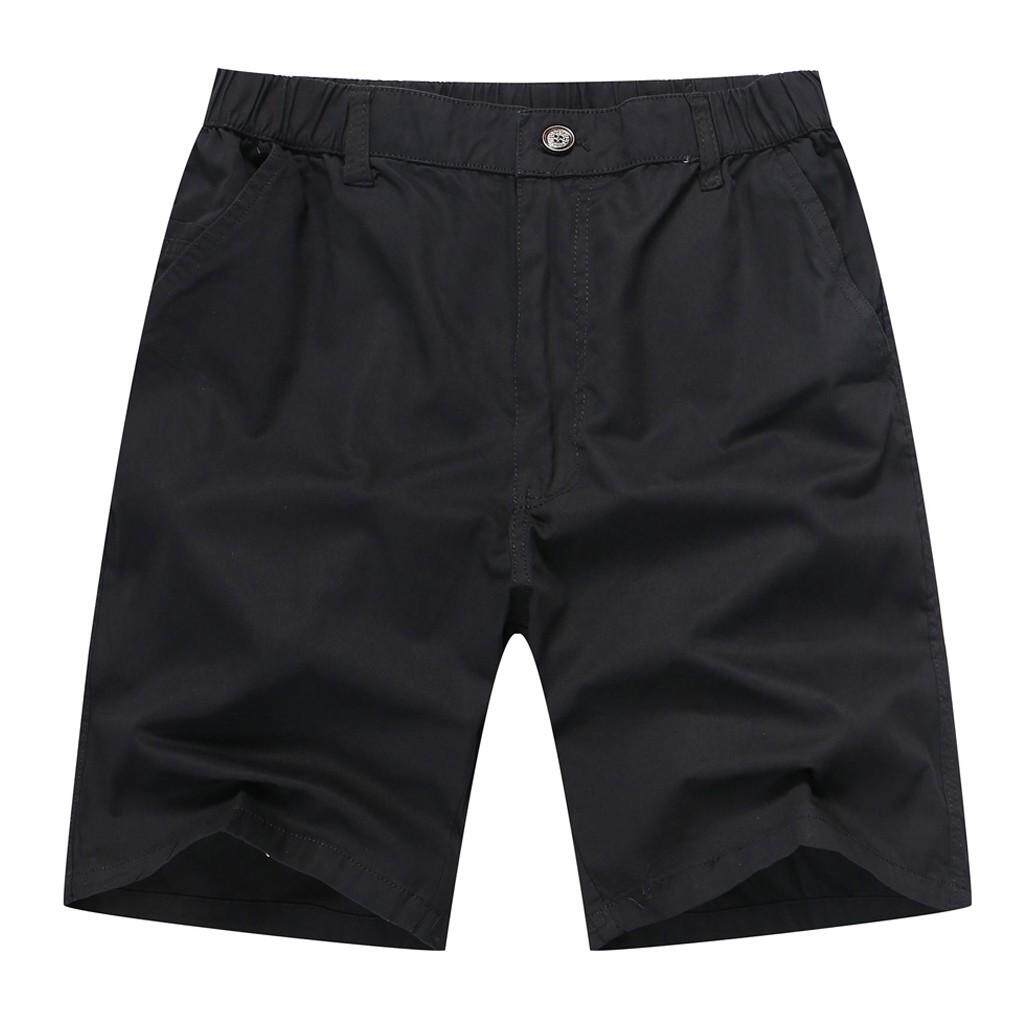 Mobilone Fashion Men Summer Casual Solid Trunks Elastic Beach Surfing Running Pants By Mobilone.