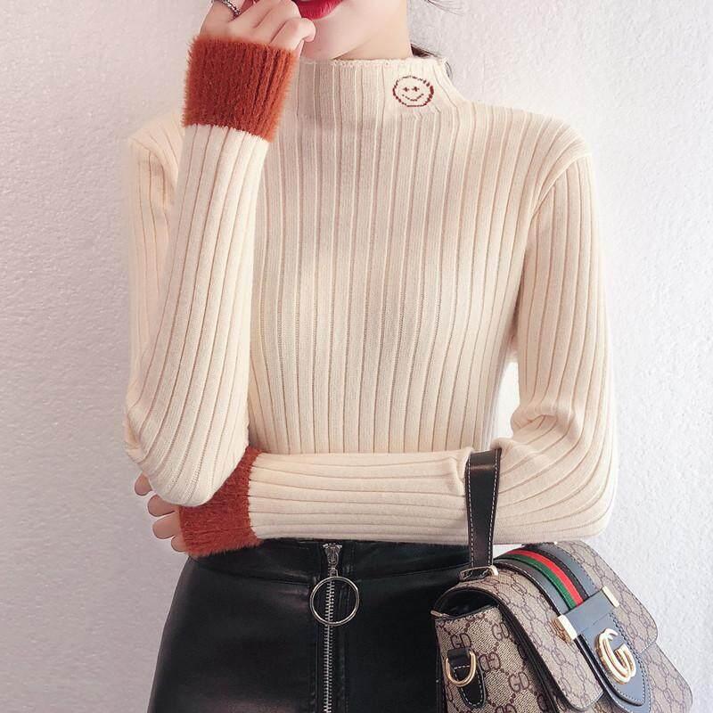 หนาครึ่งสูงคอด้านใน Bottoming เสื้อกันหนาว By Fan Si..