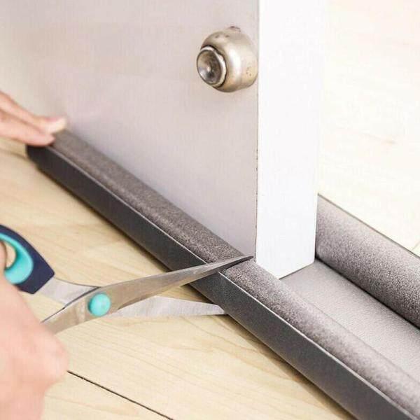 【Promotions】95CM Flexible Door Bottom Sealing Strip Guard Sealer Stopper Door Weatherstrip Guard Wind Dust Blocker Sealer Stopper Door Seal