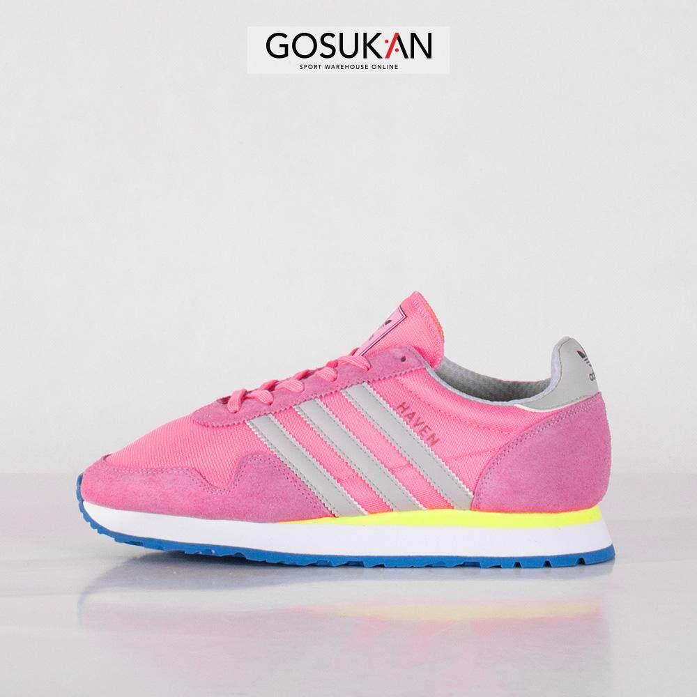super popular 684e0 7008a adidas Originals Womens Haven Sneakers Shoes Pink (BB2898)  0