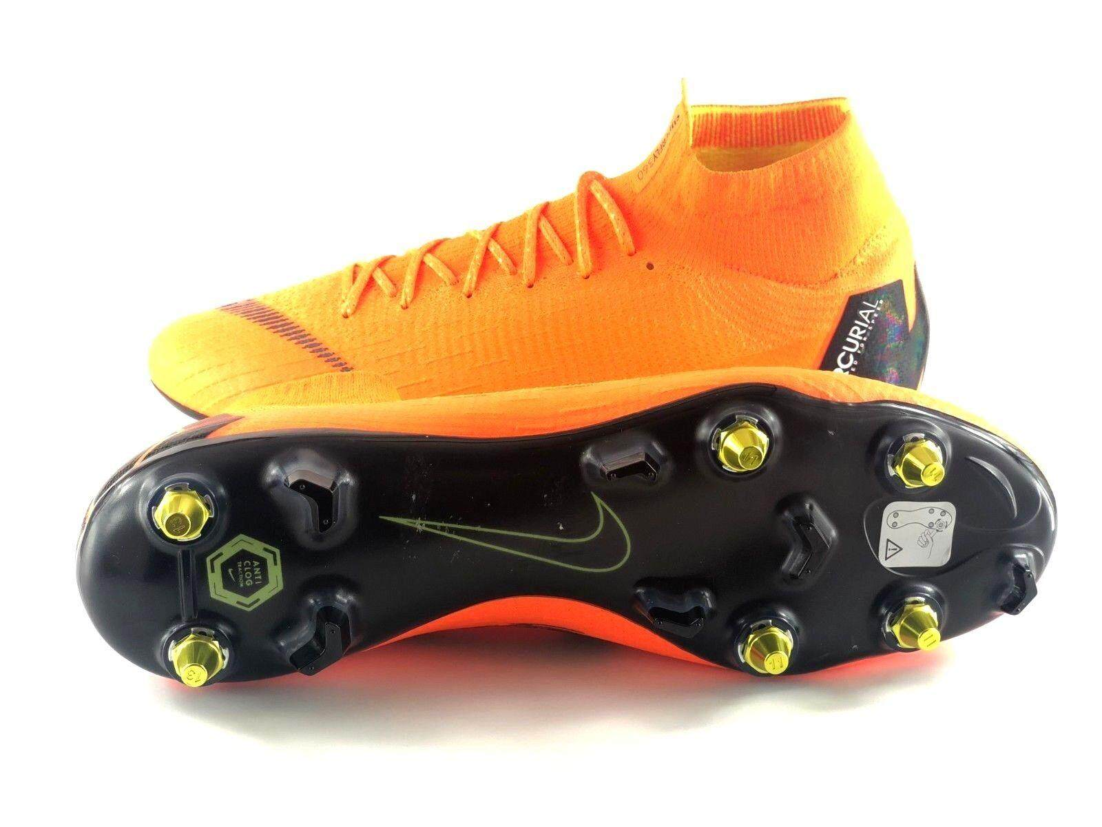 4c9aa76ec Nike Mercurial Superfly 6 Elite 360 SG Soccer Cleats Mens Football Shoes