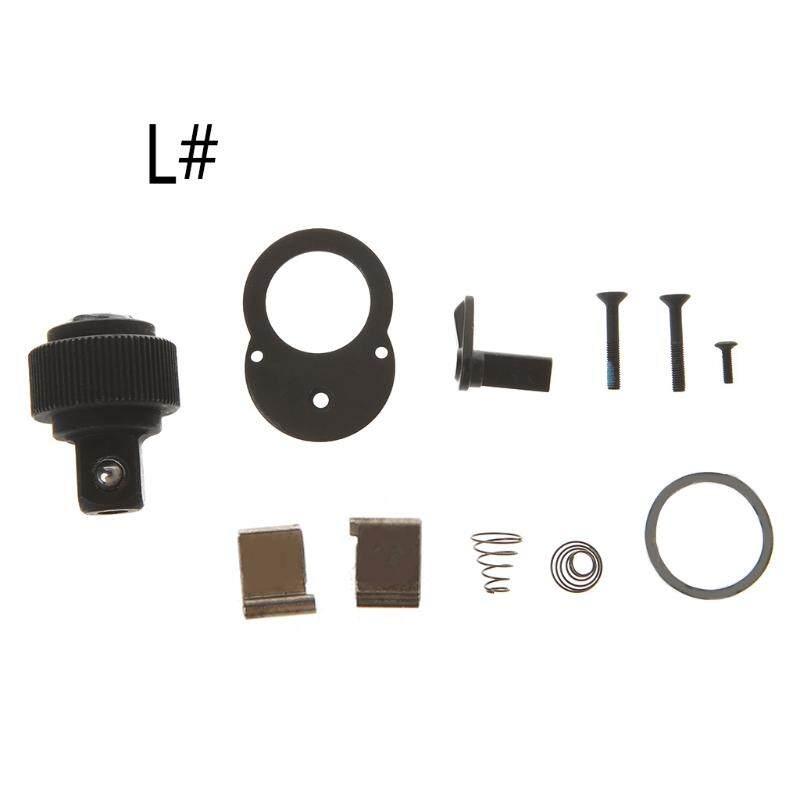 1//4/'/' 72 Teeth Socket Ratchet Wrench Spanner Repair Kit Accessories