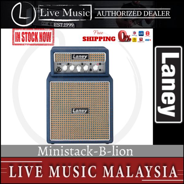 Laney MiniStack-B-Lion Mini Lion Heart Guitar Amplifier (Ministack B lion) Malaysia