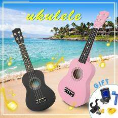 Đàn Ukulele Soprano 21 Inch Uke Sapele 12 Phím Đàn Nhạc Cụ Đàn Guitar Hawaii