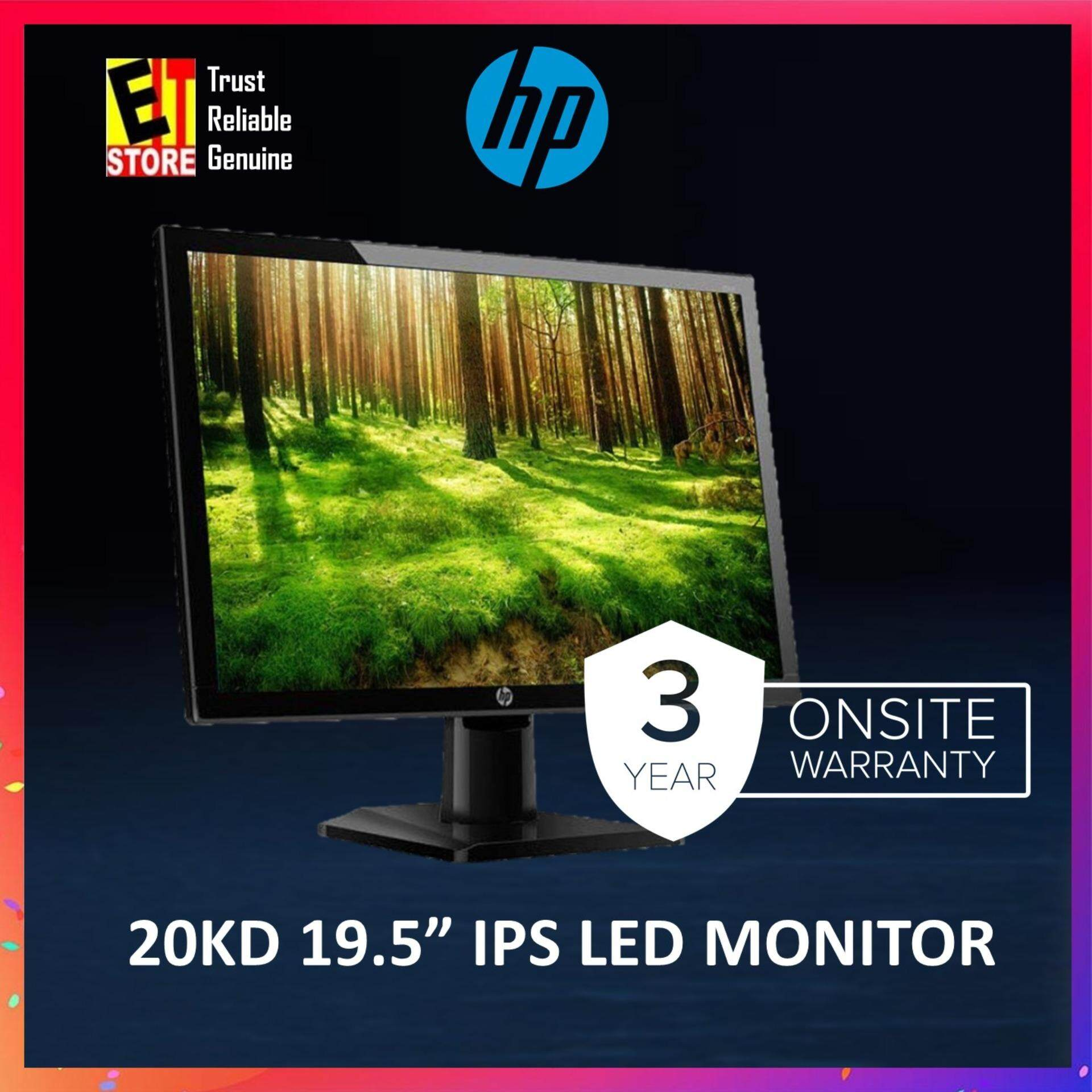 HP 20kd 19 5-inch Monitor (3 years onsite warranty)