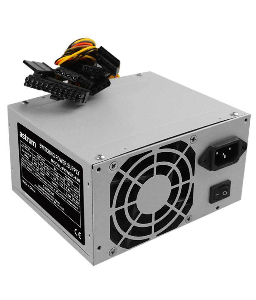 PC CPU Power Supply ATX PCIE SATA Connector Computer Components  Parts/2ndProduct Second Hand