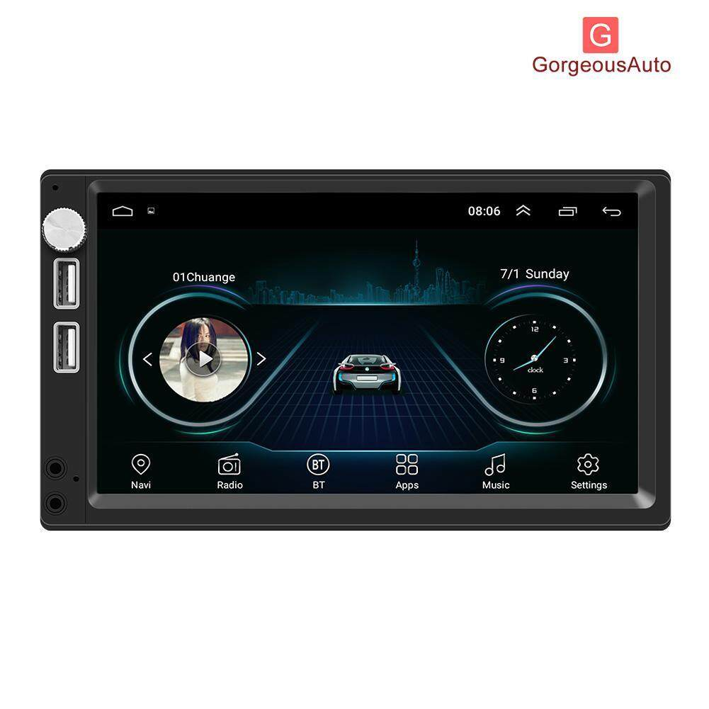 Gougeouauto A5 7 Inch Android 8.1 Car Stereo Mp5 Player Gps Navi Fm Radio With Camera By Gorgeousauto.