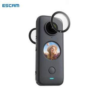 ESCAM , 2 Chiếc Vỏ Bảo Vệ Ống Kính Toàn Cảnh Dính Bảo Vệ, Cho Insta360 Một X2 Phụ Kiện Máy Ảnh thumbnail
