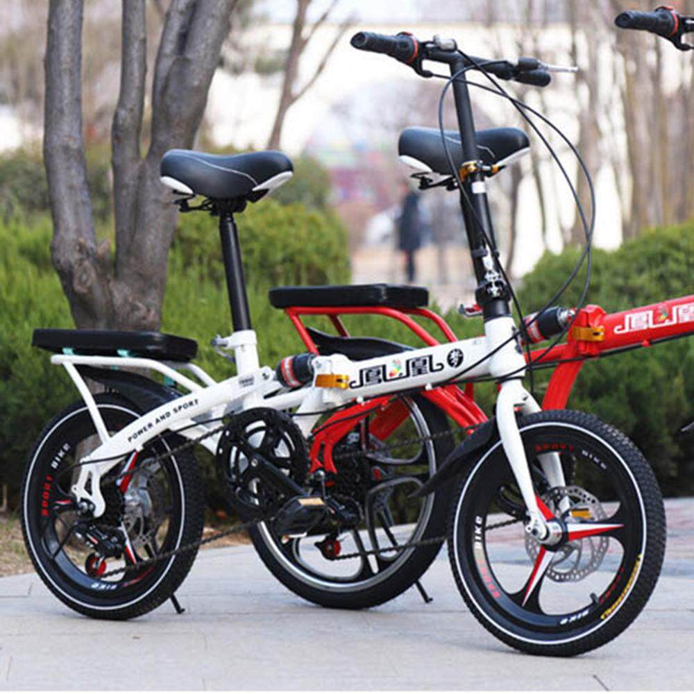 471e487a205 (2019 New Release) Kumronmo Lightweight Foldable Bicycle (Light Weight,  Light-weight