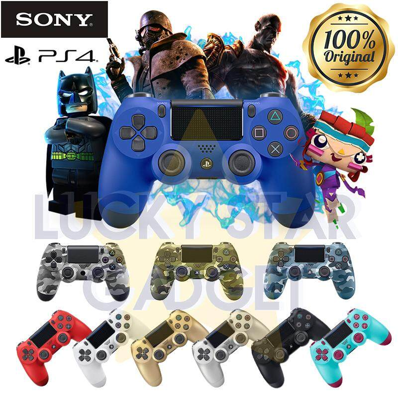 【Original】SONY PS4 DualShock 4 Controller Wireless Gaming Controller Ver2 0  Gamepad Gaming Joystick 1YEAR Warranty