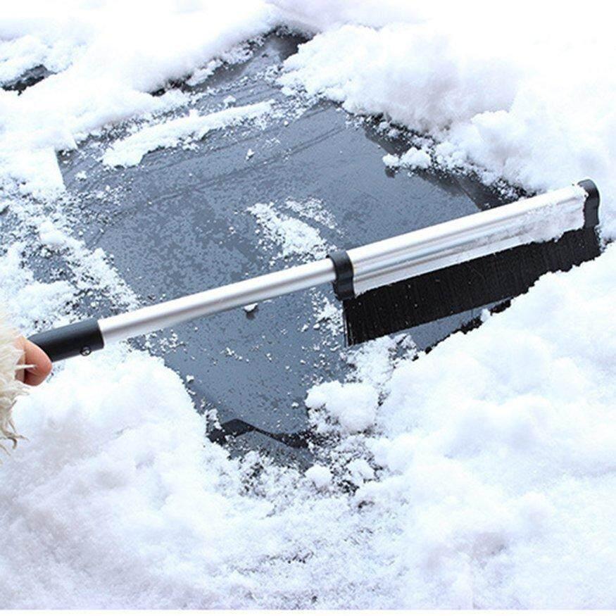 Top Deals Car rain and snow integrated telescopic snow brush made from aluminum alloy; telescopic snow and rain shovel - 2