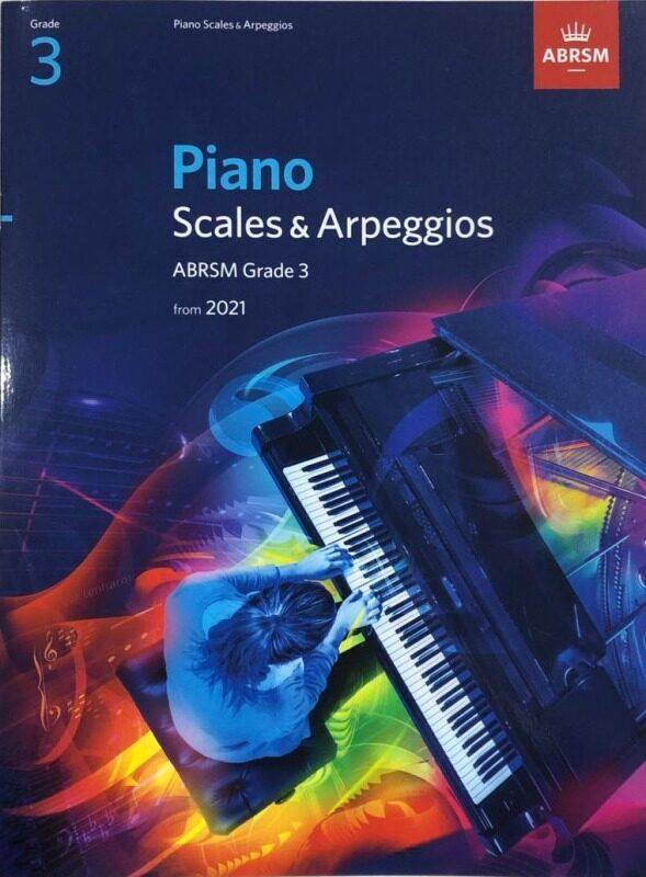 Piano Scales & Arpeggios ABRSM Grade 3 From 2021 Malaysia