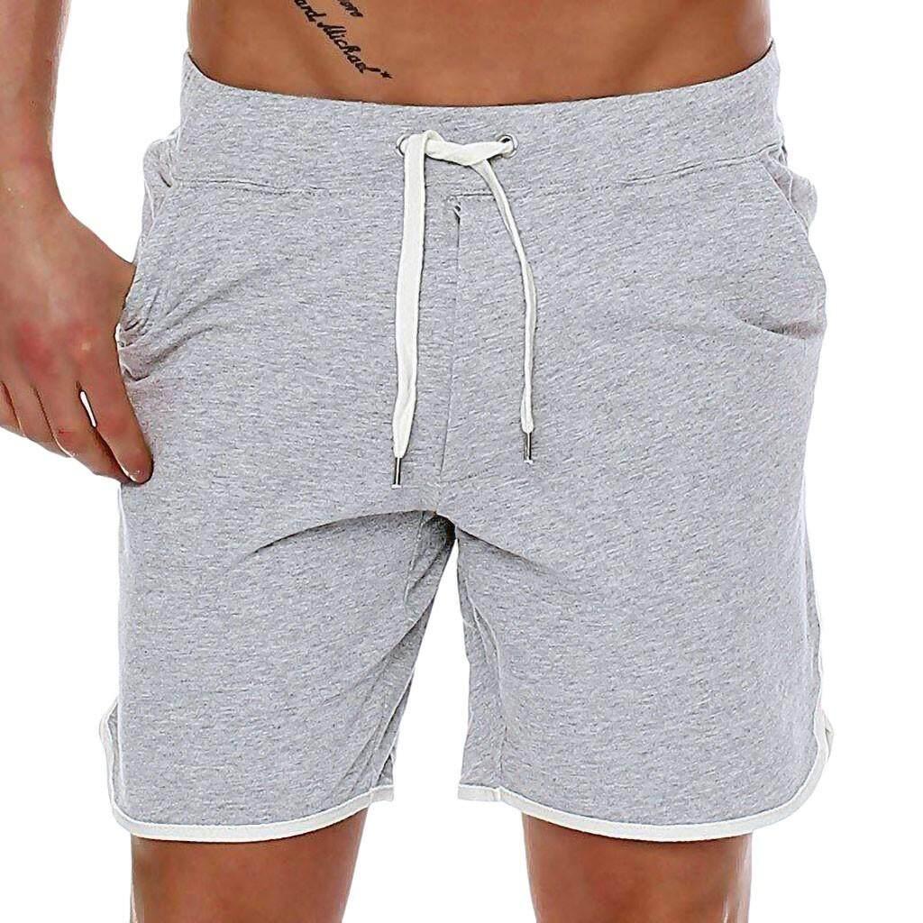 Suolede ผู้ชายกางเกงขาสั้นเบอมิวด้ากีฬากางเกงสำหรับหน้าร้อน Sweatpants ผู้ชายเสื้อผ้าแฟชั่นชุดออกกำลังกายชุดว่ายน้ำชุดกีฬากางเกงขาสั้นว่ายน้ำชายหาดดำน้ำ By Suolede.