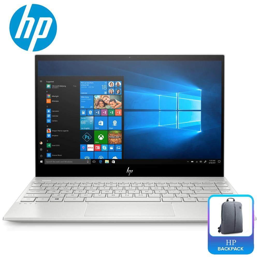HP Envy 13-aq0021TX 13.3 FHD IPS Touch Laptop Silver ( i5-8265U, 8GB, 256GB, MX250 2GB, W10 ) Malaysia