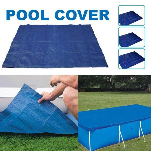 Pool Protector Swimming Pool Dust Cover Thickened Tarpaulin Hot Tub Supplies Portable Pool Protector Solar Insulation Cover Minimize Water Loss Keep Hea Pool Protector Solar Insulation Cover