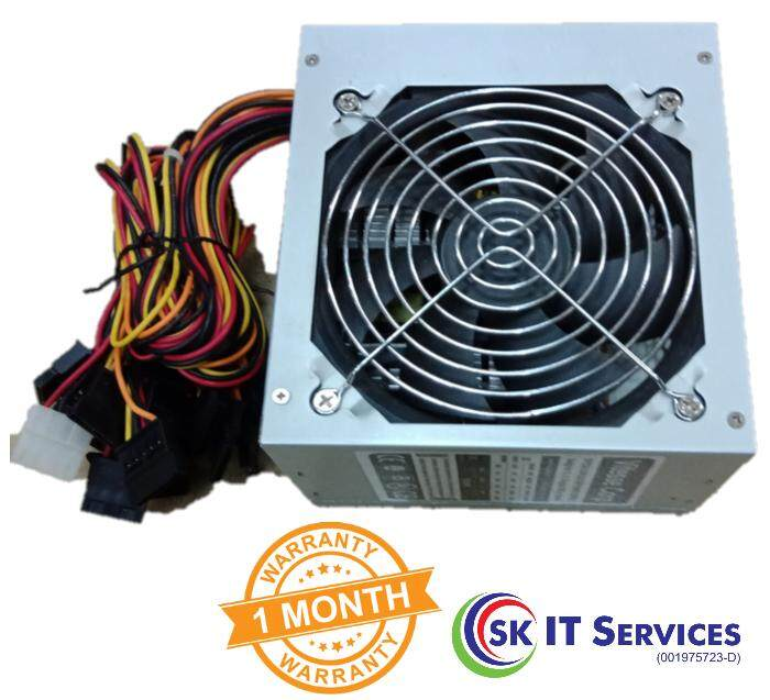 Premium Duplicator Power Supply 500 Watt (13 SATA + 2 IDE) 12cm X 12cm Cooling Fan for 11 Targets CD DVD Blu-ray Duplicator Tower Case 115v/230v Input Switchable
