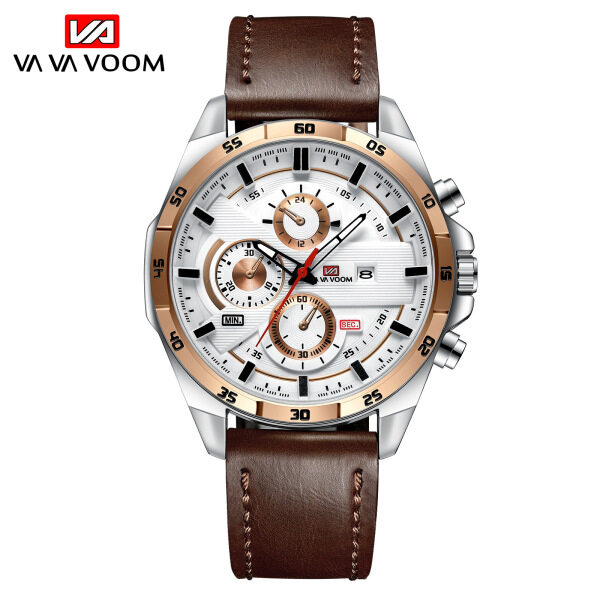 TTime Va-216 Handsome Mens Youth Fashion Leading Create Racing waterproof Watch for men.Malaysia stock with BOX. Malaysia