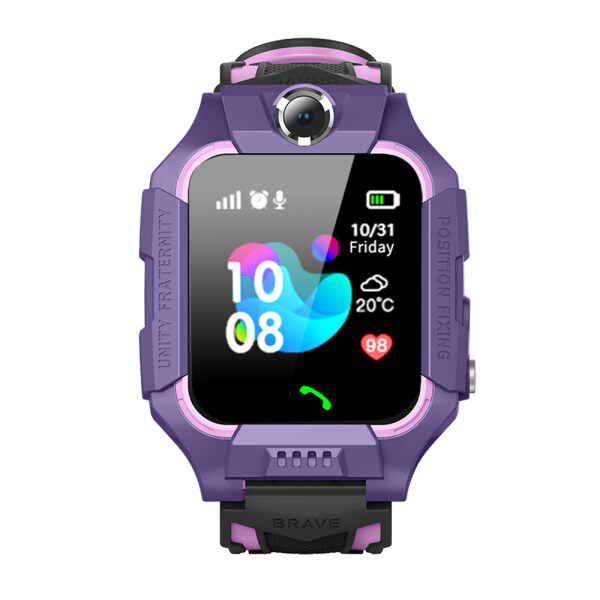 Go-fifteen Student Genius Waterproof Smart Children Phone Watch Positioning Z6 Touch Screen Camera Multifunctional Phone Watch Malaysia