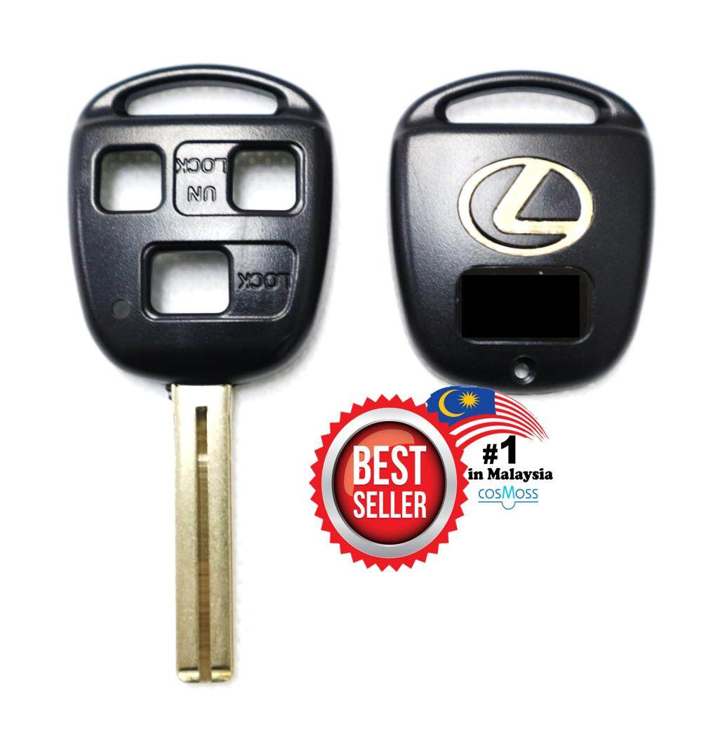 Toyota Lexus 3 Button Remote Key Casing By Cosmoss.