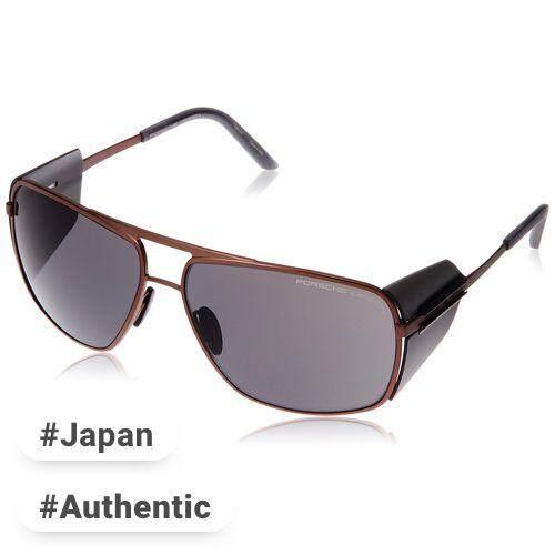 109eb9f109f0 PORSCHE DESIGN glasses Men s Brown Japan 64 FREE size