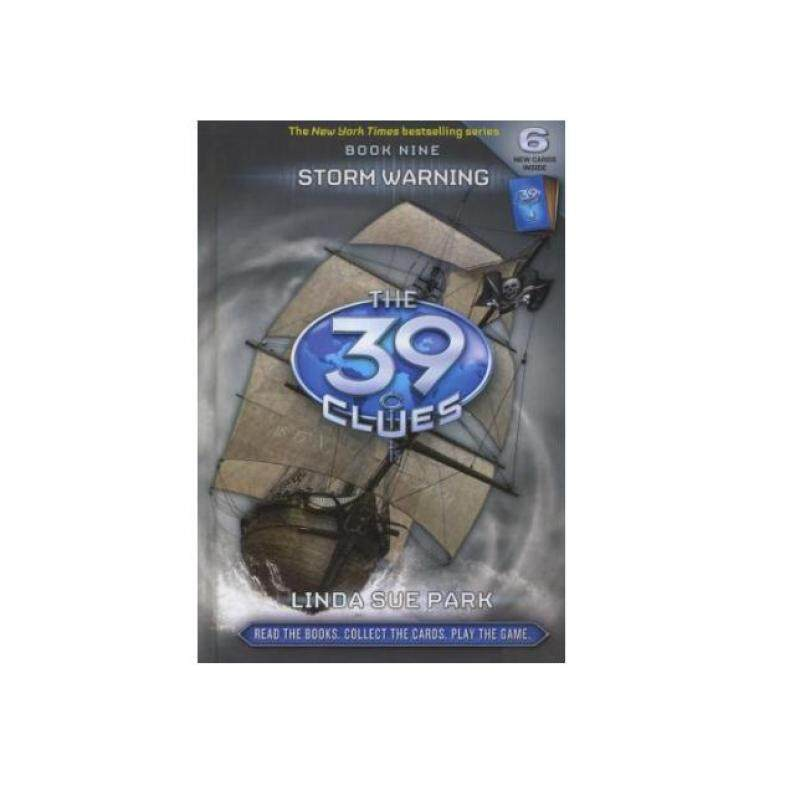 The 39 Clues book 9: Storm Warning, scholastic Malaysia