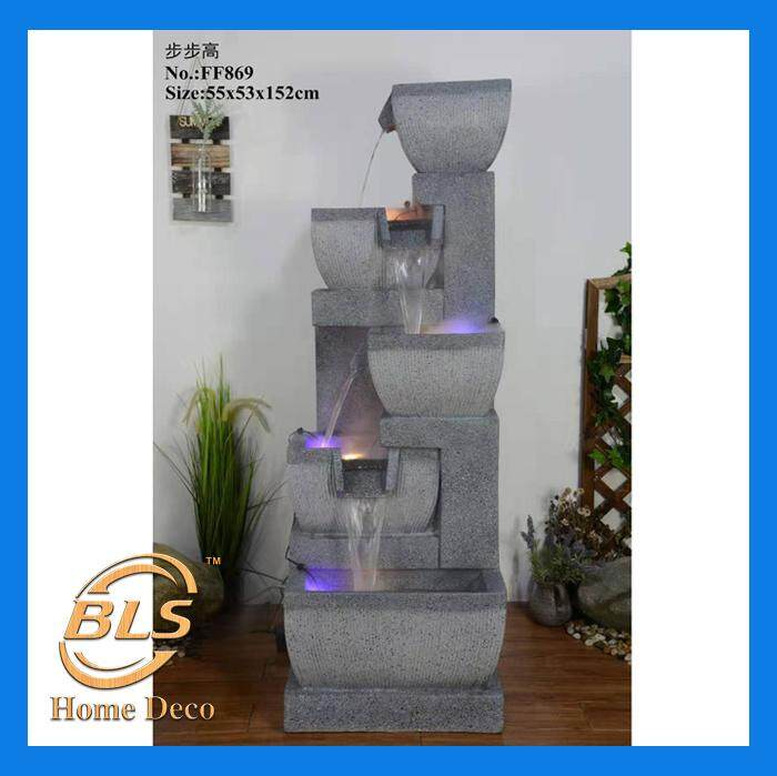 LARGE FF869 WATER FOUNTAIN HEIGHT 152CM FENG SHUI HOME DECORATION