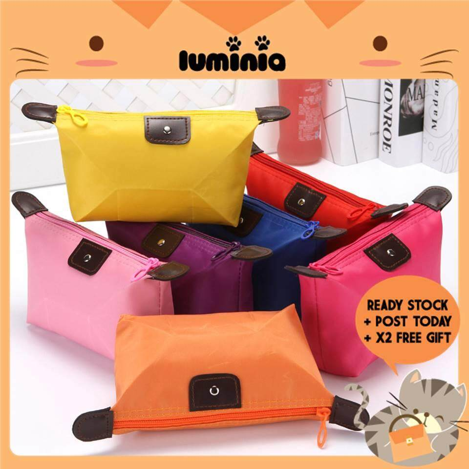 Ready Stock Luminia Malaysia - Make Up Bag Travel Pouch Coin Dompet Clutch Beg Wallet Bags By Luminia Bag & Fashion Wholesale.