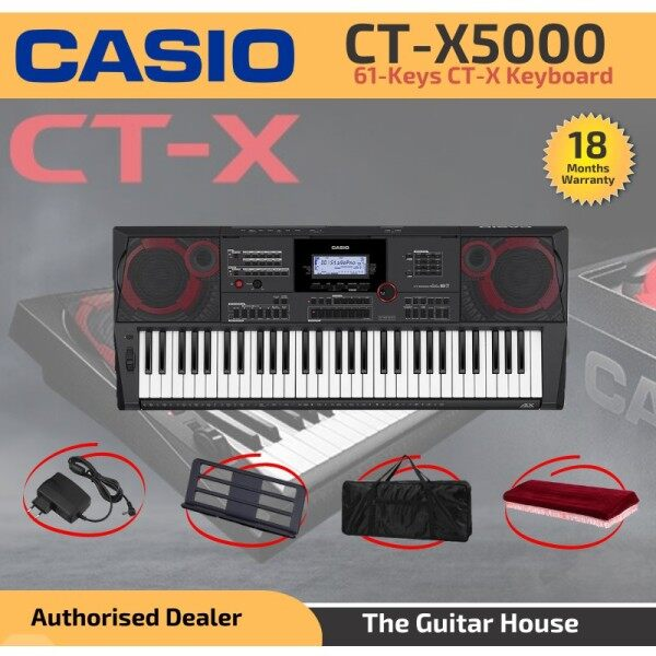 Casio CT-X5000 High Gred Keyboards 61-Keys with free gifts (CTX5000_4) (CT X50004) Malaysia