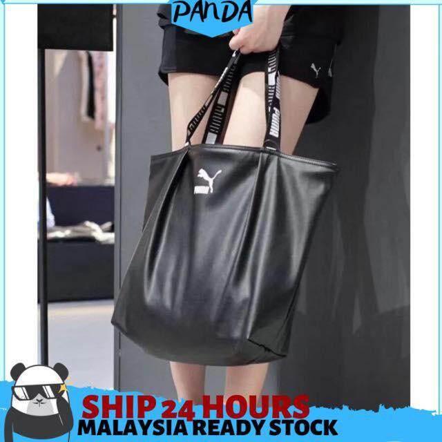 21124306d Panda ShopReadyStockMalaysia Pumaa BegPasar Women Handbag Shopping Bag Size