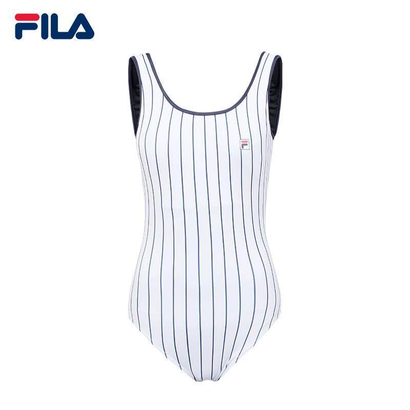 Fila Women Swimsuit/striped Swimsuit By Fila Flagship Store.