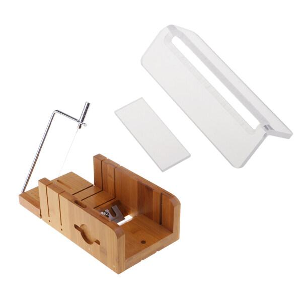 Mua Meriglare 2 Cái Xà Phòng Gỗ Beveler Máy Bào Tông Đơ & Gỗ Dây Inox Máy Cắt Lát Xà Phòng/Máy Cắt Bánh + Acrylic Nến Xà Phòng Cạnh Tông Đơ