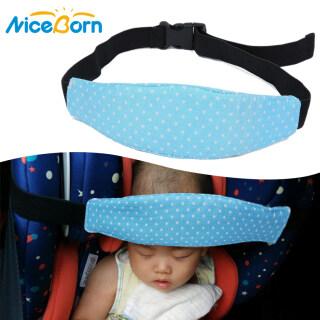 Đai an toàn trên ô tô cho trẻ sơ sinh NiceBorn, hỗ trợ đỡ đầu bé khi ngủ, chất liệu bông tinh khiết nền mại, thoáng khí in họa tiết hoạt hình dễ thương - INTL thumbnail