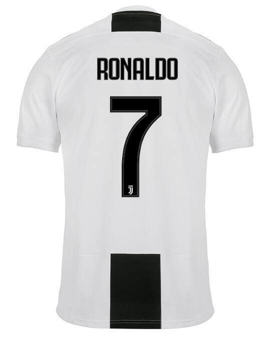 Kualitas Ronaldo No 7 Juventus Rumah dan Pergi dan 3rd T-shirt Jersey Bola Sepak Bola Jersi Kaus Olahraga Thai Gred Copy Ori untuk pria 2018/2019