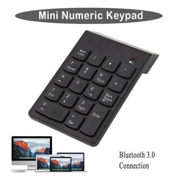 Ready Stock !!! 2.4G Wireless USB Numeric Keypad Mini Numpad 18 Keys Digital Keyboard for iMac/MacBook Air/Pro Laptop PC Notebook Desktop Malaysia