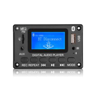 Bảng Mạch Giải Mã Bluetooth 5.0 Không Dây Màn Hình LED DC 5V 12V Mô-đun Trang Trí MP3 Máy Nghe Nhạc MP3 WMA Có Chức Năng Ghi Âm thumbnail