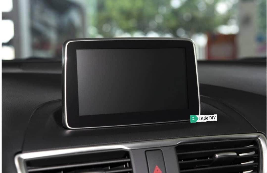 Mazda Cx3 Head Unit Tempered Glass Protector By Little Diy.