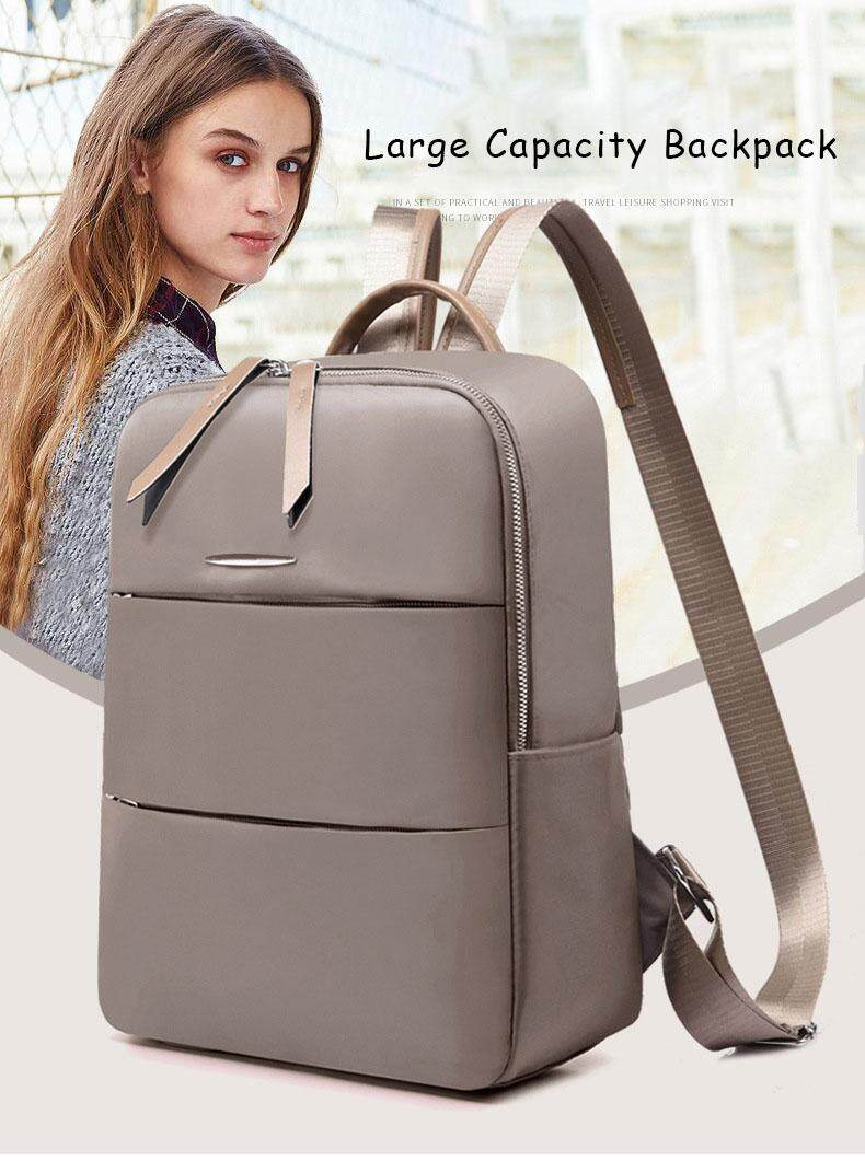 Unique2017 Newest Korean Style Oxford Cloth Large Capacity Student Backpack Handbags Outdoor Travel Multi-function Waterproof Anti-theft Casual Women Ladies Female Leisure Shoulder Bag