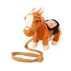 Ngựa đi bộ bằng điện 10inch, đồ chơi mô phỏng thông minh cho trẻ em