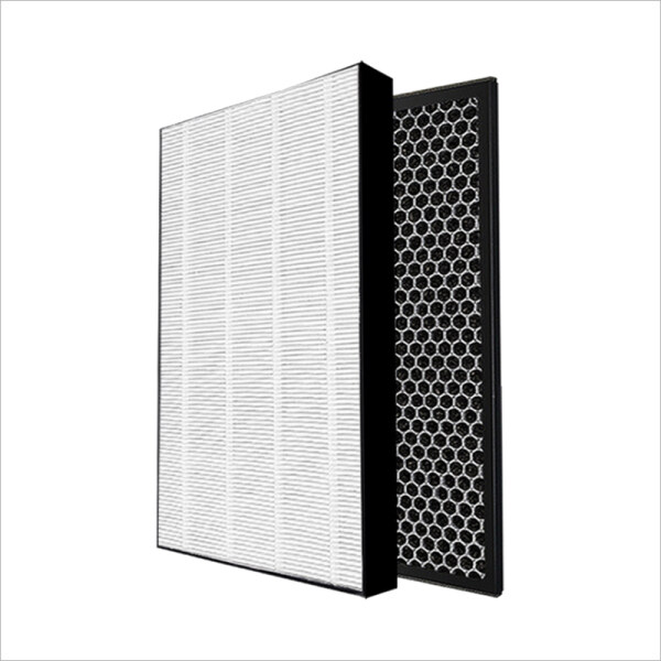 Air Purifier Filter + Activated Carbon Filter for Philips AC1215 AC1214 AC1210 AC1213 HEPA Filter