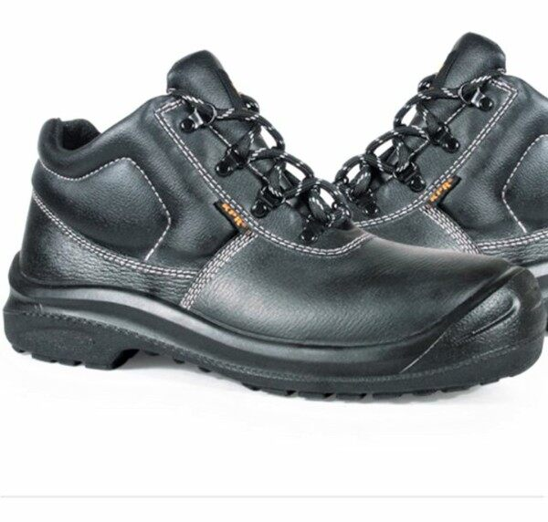 Size 5- 12 King Power KPR 026 Men Leather Safety Shoe Work Boots Kasut Kerja Kulit Lelaki