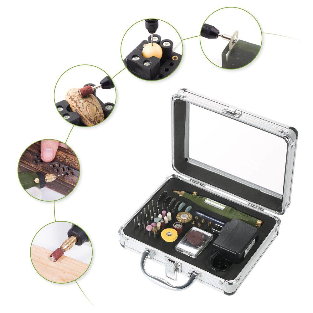 Multi-functional Electric Grinder Variable Speed Rotary Tool Kit AC100-240V