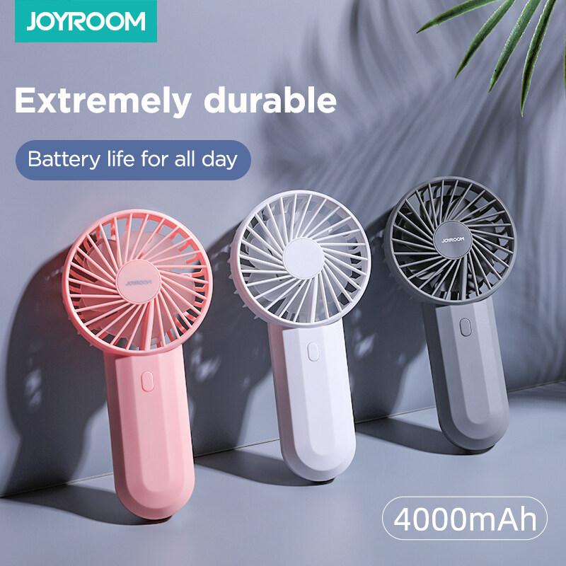 Quạt Điện Cầm Tay Mini Joyroom, Quạt Sạc USB Cho Văn Phòng Sinh Viên