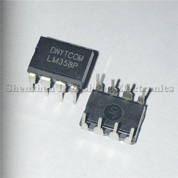 20PCS/LOT LM358N LM358P LM358 DIP-8 Dual op amp chip