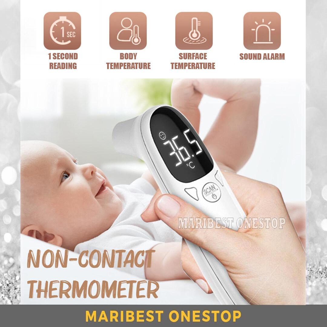 WDKL-EWQ-002 Digital Non-Contact Infrared Thermometer Body Forehead Fever Temperature Suhu Badan